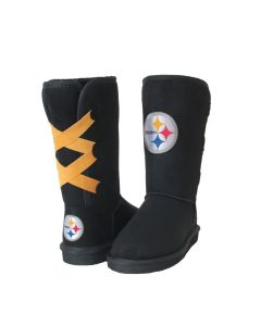 Pittsburgh Steelers Cuce Youth Girls Conqueror Boot