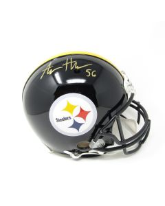 Pittsburgh Steelers #56 Alex Highsmith Autographed Riddell ProLine Authentic Full Size Helmet