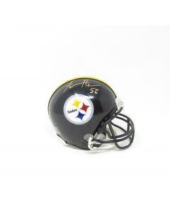 Pittsburgh Steelers #56 Alex Highsmith Autographed Riddell Mini Helmet