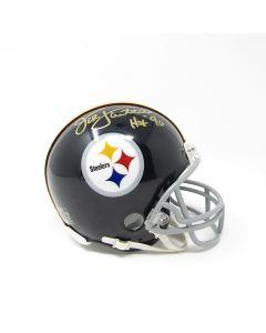 Pittsburgh Steelers #58 Jack Lambert Autographed Riddell Mini Throwback Helmet