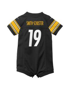 JuJu Smith-Schuster #19 Newborn/Infant Nike Replica Jersey Romper