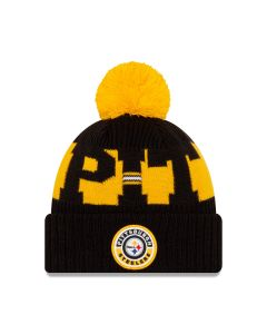 Pittsburgh Steelers New Era 2020 Sideline Sport Knit Hat