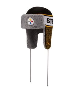 Pittsburgh Steelers New Era Trapper Knit Hat