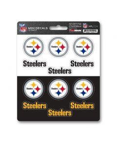 Pittsburgh Steelers Mini Decals - 12 pack