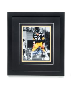 Pittsburgh Steelers #59 Jack Ham Autographed and Framed 8x10 Photo