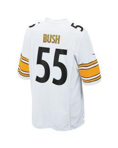 Devin Bush #55 Men's Nike Replica Away Jersey