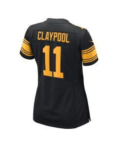 Chase Claypool #11 Women's Nike Replica Color Rush Jersey