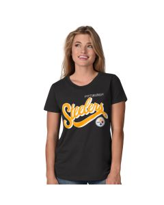 Pittsburgh Steelers Women's Play the Game Crew Short Sleeve T-Shirt