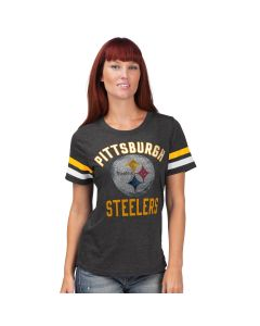 Pittsburgh Steelers Women's Short Sleeve Extra Point Short Sleeve T-Shirt