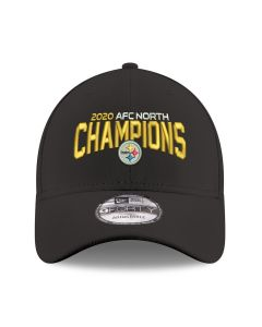 Pittsburgh Steelers New Era 9FORTY 2020 AFC North Champions Hat