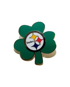 Pittsburgh Steelers Shamrock Lapel Pin