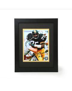 Pittsburgh Steelers #75 Joe Greene Autographed and Framed 8x10 Photo