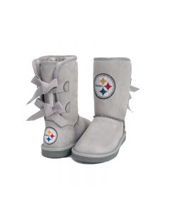 Pittsburgh Steelers Women's Believer Bow Boot