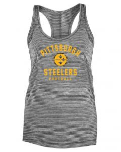 Pittsburgh Steelers Women's New Era Space Dye Racerback Tank