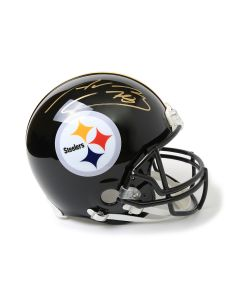 Pittsburgh Steelers #78 Alejandro Villanueva Autographed Riddell ProLine Authentic Full Size Helmet