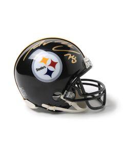 Pittsburgh Steelers #78 Alejandro Villanueva Autographed Riddell Mini Helmet