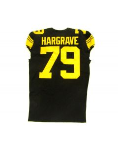 Pittsburgh Steelers 2019 Team Issued #79 Javon Hargrave Color Rush Jersey