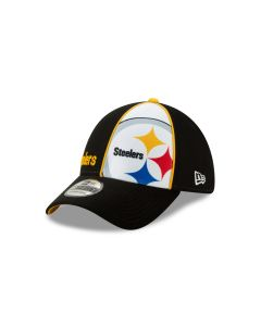 Pittsburgh Steelers New Era Youth 39THIRTY Jr Panel Hat