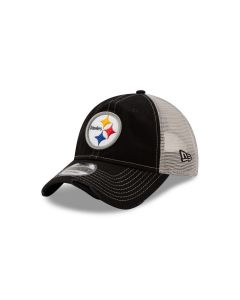 Pittsburgh Steelers New Era 9TWENTY Worn Mesh Back Hat