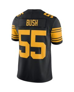 Devin Bush #55 Men's Nike Limited Color Rush Jersey