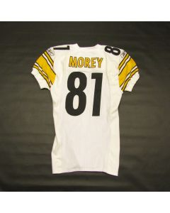 Pittsburgh Steelers #81 Sean Morey 2003 Team Issued Away Jersey