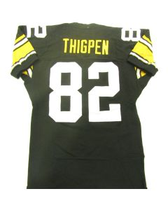 Pittsburgh Steelers 1993 Game-Used #82 Yancey Thigpen Home Jersey