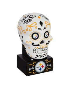 Pittsburgh Steelers Sugar Skull Figurine