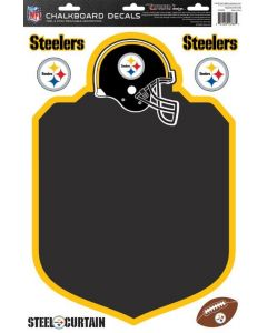 Pittsburgh Steelers Chalkboard Peel & Stick Decals