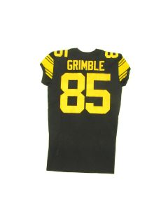 Pittsburgh Steelers #85 Xavier Grimble 2019 Team Issued Color Rush Jersey