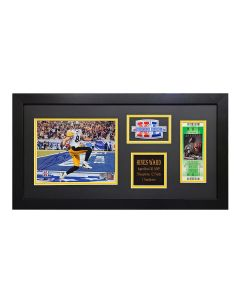 Pittsburgh Steelers #86 Hines Ward Signed Framed SBXL MVP Collection