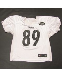 Pittsburgh Steelers #89 Vance McDonald 2019 Used Practice Jersey