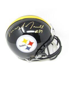Pittsburgh Steelers #89 Vance McDonald Autographed Riddell ProLine Authentic Full Size Helmet