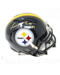 Pittsburgh Steelers #89 Vance McDonald Autographed Riddell Mini Speed Helmet