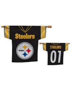 Pittsburgh Steelers 2-Sided Jersey House Flag
