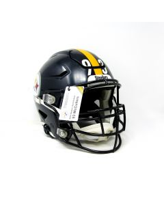 Pittsburgh Steelers #93 Dan McCullers 2019 Game Used Helmet