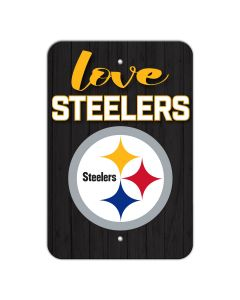 Pittsburgh Steelers Love Sign