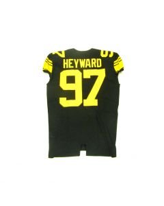 Pittsburgh Steelers 2016 Team Issued #97 Cam Heyward Color Rush Jersey