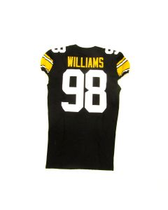 Pittsburgh Steelers #98 Vince Williams 2019 Team Issued Throwback Jersey