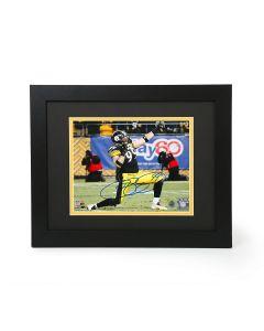Pittsburgh Steelers #99 Brett Keisel Signed 'Fear Da Beard and the Bow & Arrow' 8x10 Framed Photo