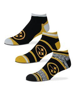 Pittsburgh Steelers Color Rush Socks - 3 pack