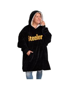 Pittsburgh Steelers Reversible Sherpa Hoodeez