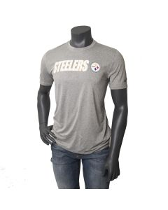 Pittsburgh Steelers Men's Nike Short Sleeve Legend Lift Grey T-Shirt