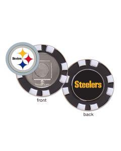 Pittsburgh Steelers Poker Chip Golf Ball Marker