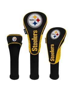 Pittsburgh Steelers Set of Three Golf Club Headcovers
