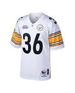 Jerome Bettis #36 Men's Mitchell & Ness Authentic Super Bowl XL Jersey