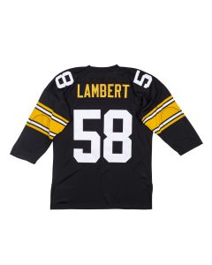 Jack Lambert #58 Mitchell & Ness Authentic Home Jersey