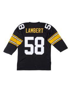 Jack Lambert #58 Mitchell & Ness Authentic Home Jersey