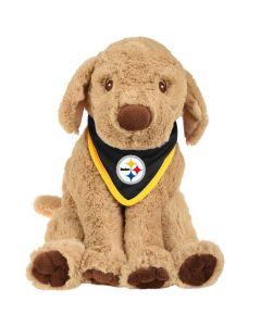 Pittsburgh Steelers Plush Puppy with Bandana