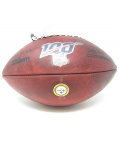 Pittsburgh Steelers 9.30.2019 Game Used Football #5 vs. Cincinnati Bengals