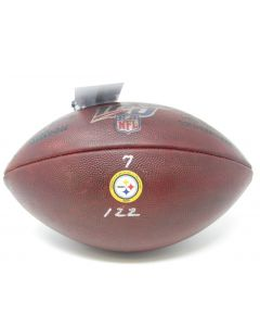 Pittsburgh Steelers 11.3.2019 Game Used Football #7 vs. Indianapolis Colts